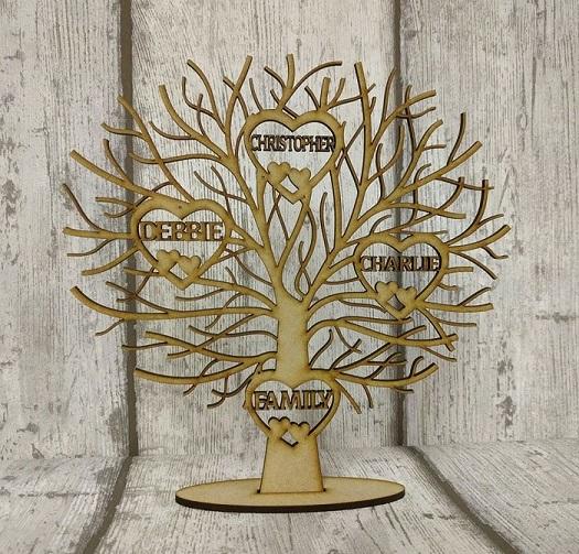 Bushy Tree Bespoke Lasercutz Ltd
