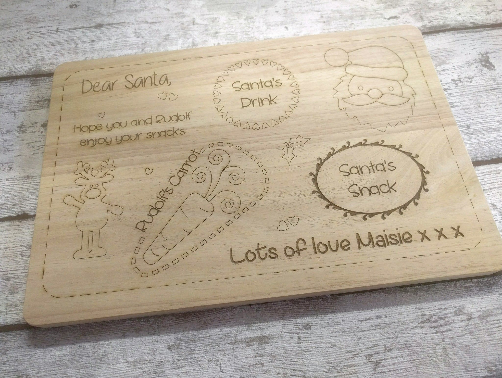 Christmas Eve Board – Bespoke Lasercutz Ltd