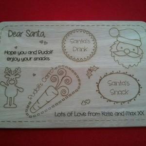 Santa boards & Spoons