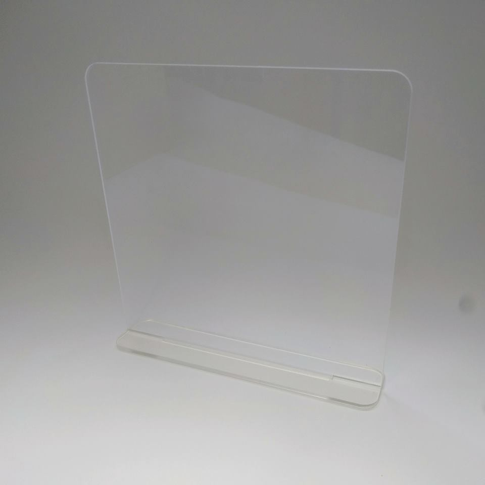 freestanding acrylic plaque bespoke lasercutz ltd. Black Bedroom Furniture Sets. Home Design Ideas